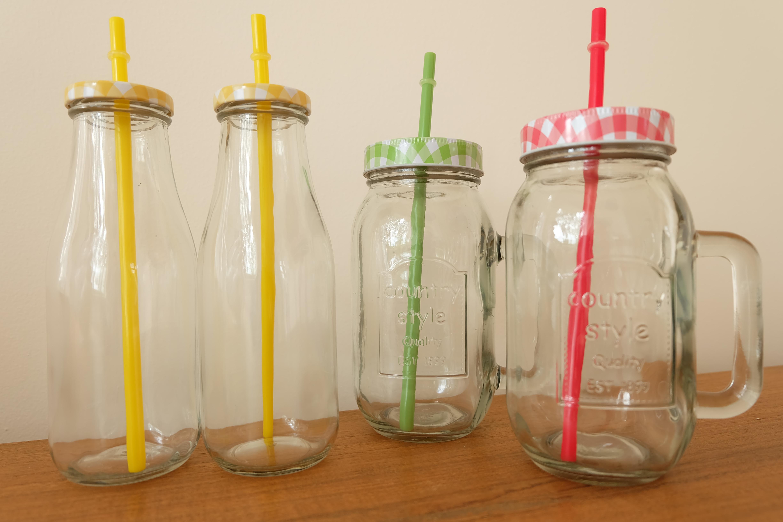 smoothie jars blokker low budget tip a mood